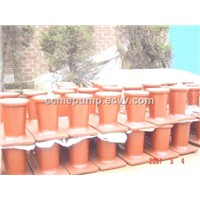 Marine Steel Double Bollards ship Casting Steel Bollard