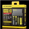 Authentic Nitecore I4 Universal Intellicharger Charger for 18650 18350 18500 26650 Battery