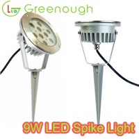 9W LED Garden Spike Light Outdoor Landscape Spot Light Supplier