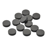 Disc sintered ferrite magnet for sensor