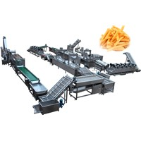 Frozen French Fries Processing Machine