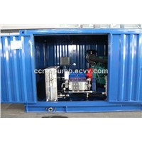High Pressure marine Water Blasting Machine