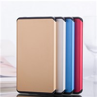 New Design Super Slim 5000mah Li-Polymer Battery Power Bank Charger