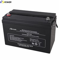 Top Quality Gel Battery 12V100ah for Solar Power
