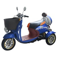 Electric Disabled Scooter, Electric Tricycle with Drum Brake (TC-014)