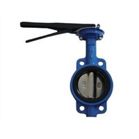 Standard General PYL Brand D71X China Made Water Medium Temperature Cast Iron Manual Butterfly Valve