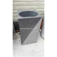 G603 Pedestal Sink, G603 Granite Pedestal Basin,Granite Pedestal Wash Basin