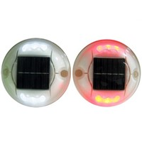 High reflective solar road stud plastic cat eyes 3m road studs