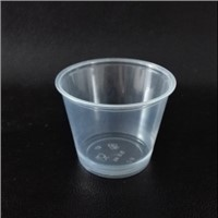 5.5oz translucent PP Souffle Cup / Portion Cup /Sauce cup with PET lid - 2500 / Case