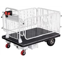 Electric Platform Trolley with Fence (HG-1100)
