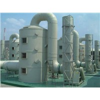 Fiberglass GRP Fiberglass Air Purification Tower