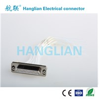 J29A Series Rectangular Electrical Twist Pins Plug Connector