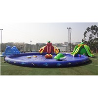 Giant Inflatable Water Park Inflatable Amusement Park