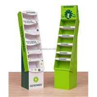 HIC cardboard display stand floor display stand racks for chocolate