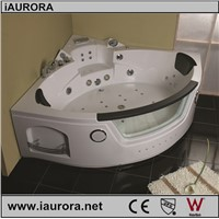 CE,TUV,ROHS luxury whirlpool hydro massage bathtub price with TV option