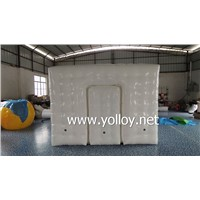 Outdoor Sealed  Inflatable Cube Tent for Sale