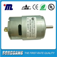 Mini Boat Motor 18V DC 8800RPM Permanent Magnet Brush Commutation DC Motor TK-RS755VC-4540
