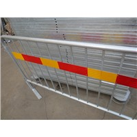 Tubular Steel Loose Foot Crowd Control Barrier
