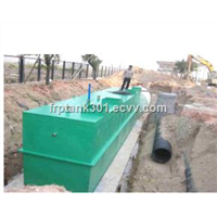 Underground /Buried Integrated Wastewater Treatment Equipment/Water