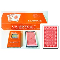 USAROYAL 100% Plastic Premium Playing Card 503