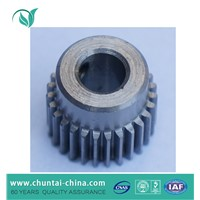 Custom CNC machining steel small rack and pinion gears