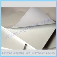 PT-PA-003W Double side adhesive PVC sticker sheet for album and menu