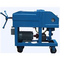 Plate Press Oil Filter Machine