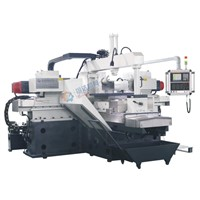 Metal processing machine surface CNC precision type four-head double side milling machine