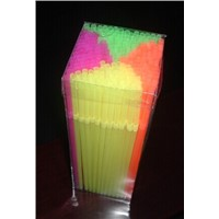 "hot sale Party - Flexible Neon PP drinking Straws 5mm dia. 21cm/8"" length - 225 Pack"
