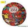 Absorbent Coaster with High Quality,round shape paper coaster