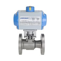 Casting Steel Pneumatic Ball Valve