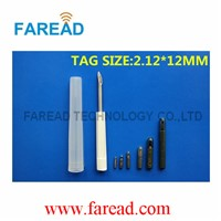 Resuable RFID Injector FDX-B ISO11784/85 2.12x12mm Animal Microchip Register Needle for Pet Management