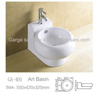 bathroom ceramic sink sanitary ware basin