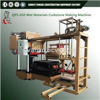 Wet Materials Hydraulic Large Concrete Paving and Curbstone Making Machine