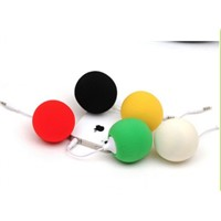 3.5mm colorful mini ballon gift speaker used for cellphone,PC,tablet PC