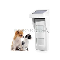 Ikevision OP40 Wifi Transmission Pet Immunity Solar Power PIR Motion Detector
