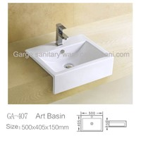 kithchen basins square counter basin