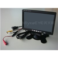 7'' VGA Touch Screen car LCD Monitor,Car Rear View LCD Monitor,TFT LCD Car Monitor
