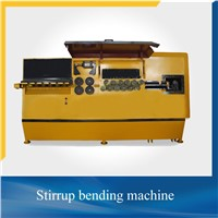 CNC control automatic rebar stirrup bending machine