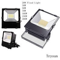 Energy Savings Garden LED Flood Light, CE Rohs Outdoor Factory 20W 30W 50W 70W 100W 150W 200W
