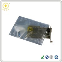 Anti-static shielding bag for packaging with zip-lock