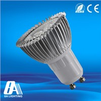 Super Bright Gu10 LED Bulb 8A LED Spot Lights For Homes / Hotel