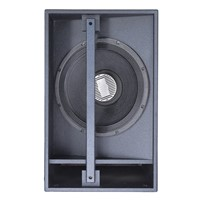 Surround Sound System Single 18'' Bass Bin Subwoofer