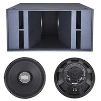 Dual 18 Inch Woofer Sub Woofer Bass Speaker Outdoor Stage Show Audio Sound System