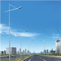 commercial metal solar power energy street light pole (YLDG-O)