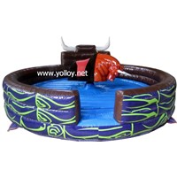 Great Fun Inflatable Rodeo Bull Sport Game