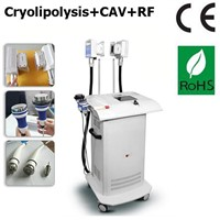 Lipolaser Cryotherapy Machine Freeze Fat Belt/Vertical Cryolipolisis Lipo Laser Cavitation RF 4 in 1