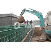 Hesco Wall for sale/military barrier Qiaoshi