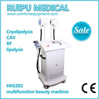 Professional Skin Care Machine Cavitation RF Cryolipolysis Break Down Fat Cell Weight Loss Machine