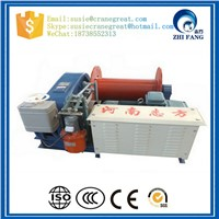 Small Gearbox Drives Planetary Hydraulic Winch